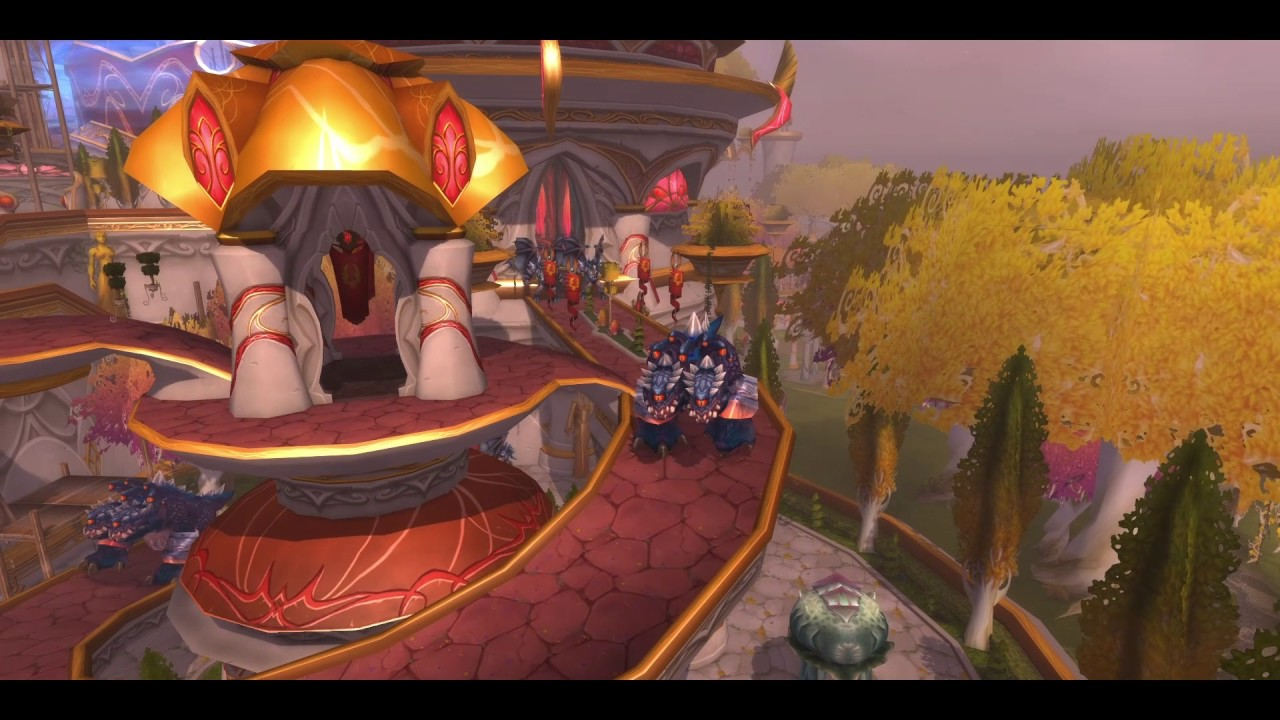 Wow Legion 050 Dungeon Run Terrasse Der Magister Zeitwanderung