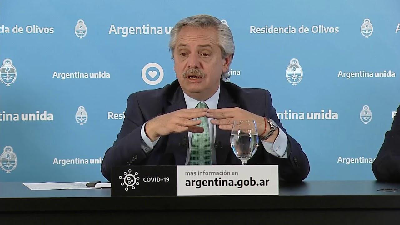 EN VIVO | Conferencia de prensa del presidente Alberto Fernández desde Olivos
