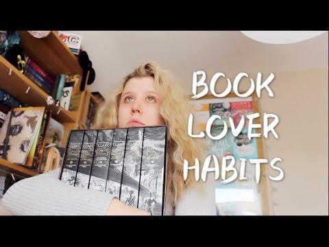 BOOK LOVER HABITS