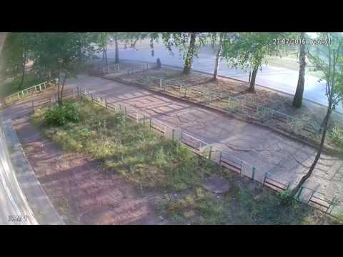 дтп в вятских полянах 27.07.2016 камера 2