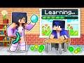 Playing as a SCHOOL TEACHER in Minecraft!
