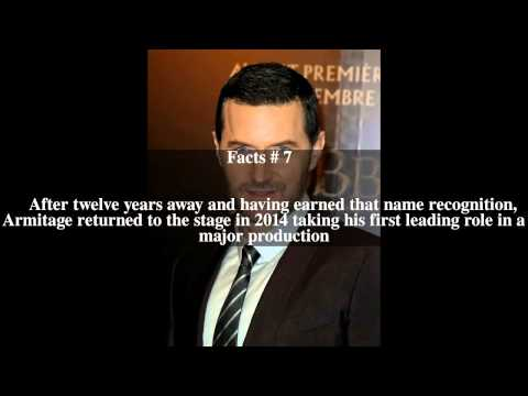 Richard Armitage (actor) Top # 11 Facts