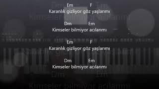 Gece Olunca..Cengiz Kurtoğlu..Akor/Altyapı/Karaoke
