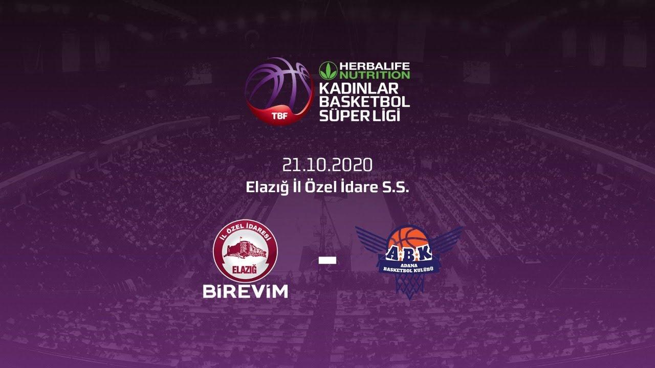 Birevim Elazığ İl Özel İdare – Büyükşehir Belediyesi Adana Basket Herbalife Nutrition KBSL 5.Hafta