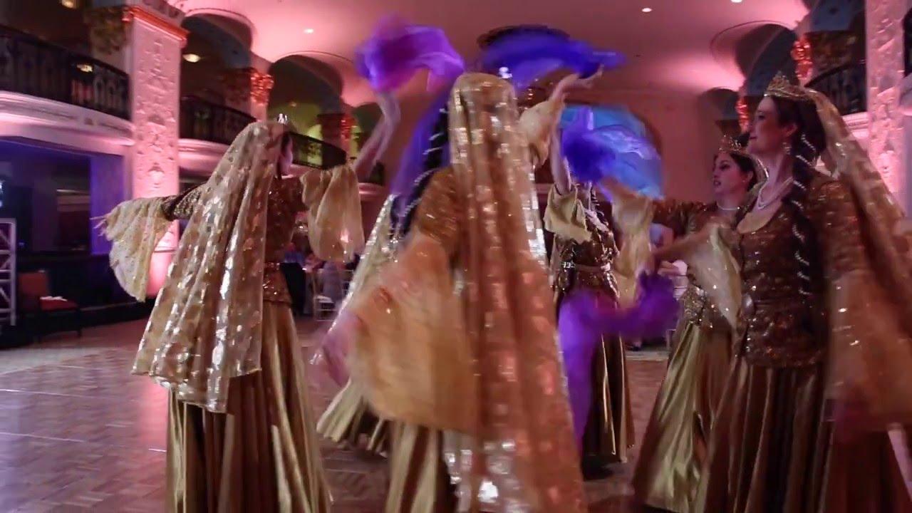 fantasy iranian jewish wedding video at the mayflower