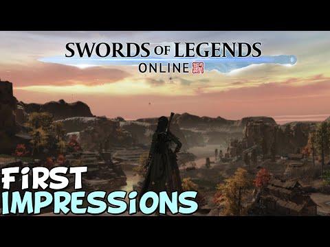 Swords Of Legends Online 2021 First Impressions