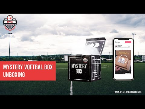 Mystery Voetbal Box  - Unboxing #mysterybox #footballmysterybox #mysteryboxfootball