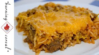 Cheeseburger Ramen Casserole - RECIPE