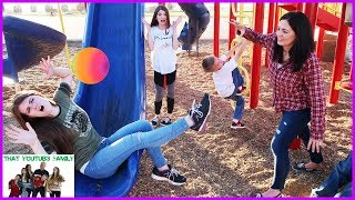 Playground Wars BALL TAG / That YouTub3 Family