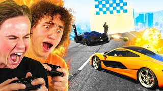 Racing My Childhood BULLY! (GTA 5)