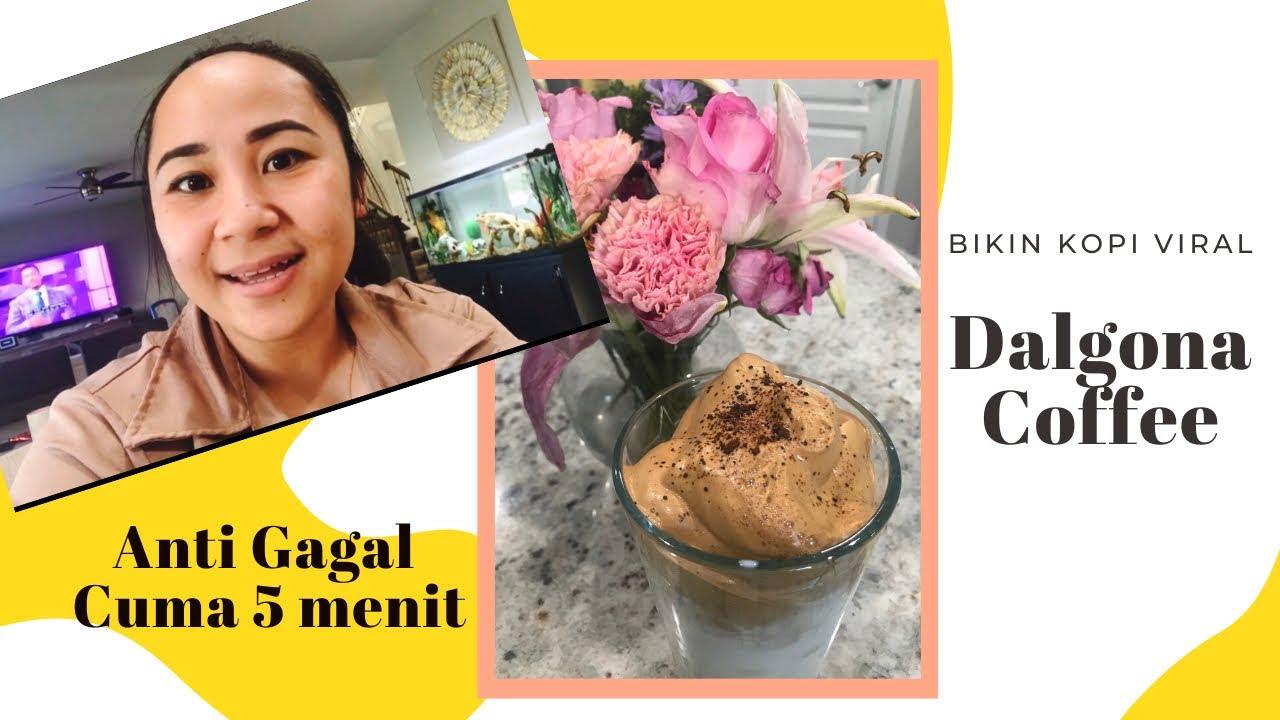 DALGONA COFFEE | CARA MUDAH MEMBUAT DALGONA COFFEE ANTI ...