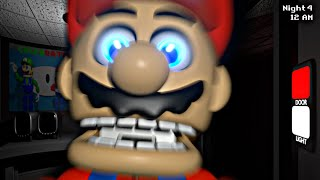 MARIO se ha ACTIVADO y da MIEDO - Five Nights at Mario's - 3D Remastered *Noches 3 y 4* (FNAF Game)