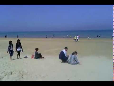 Beach in China ,Shandong Province,Yantai City , a Becautiful City