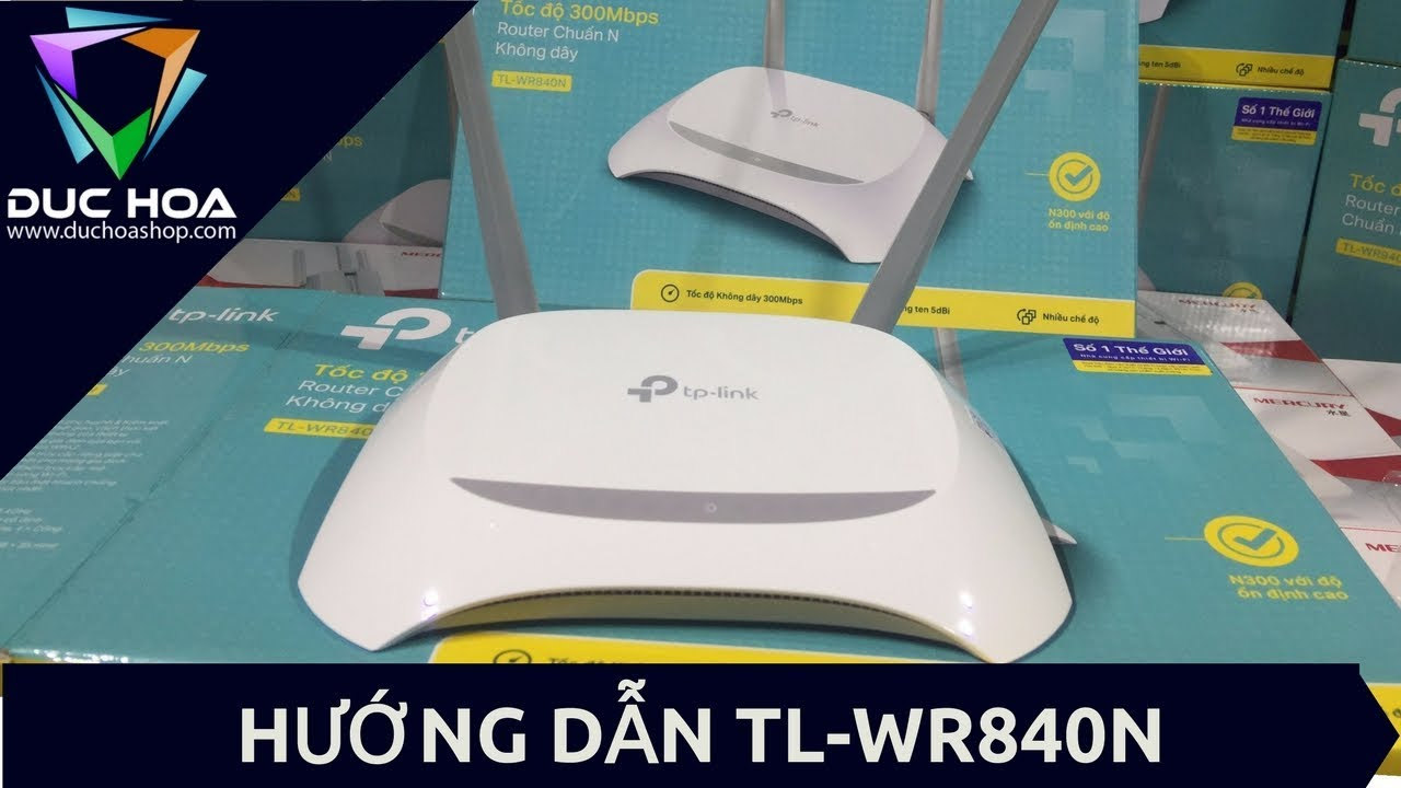 Router Quốc Tế : TP-Link WR-TL840
