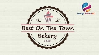 Creating a Cupcake Label Design - Adobe illustrator Tutorial For Beginners ( No Coreldraw )