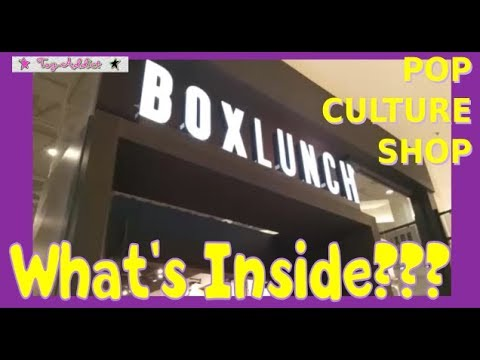 BOX LUNCH New Pop Culture Store - Shop With Me ~ Toy-Addict