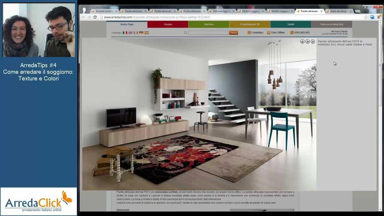 Come Arredare un Soggiorno moderno: texture e colori - ArredaTips #4