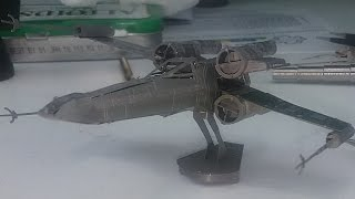Metal Earth build - X-Wing (revisited) - Star Wars