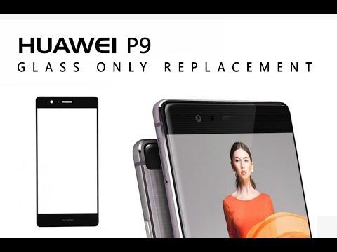 Huawei P9 EVA-L09 Glass Only Replacement Tutorial / Wymiana Samej Szybki | Selekt