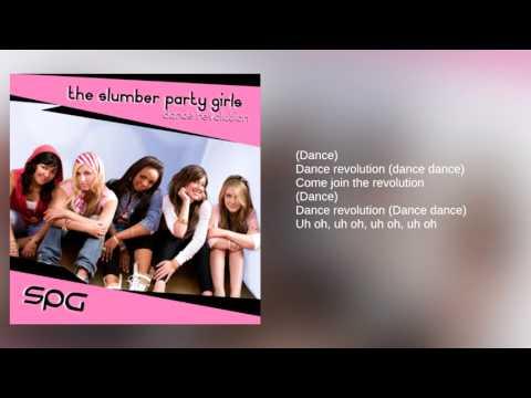 The Slumber Party Girls: Bonus Track - Dance Revolution Theme (Lyrics)