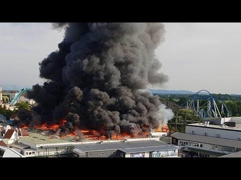Large fire breaks out at Germany's Europa Park
