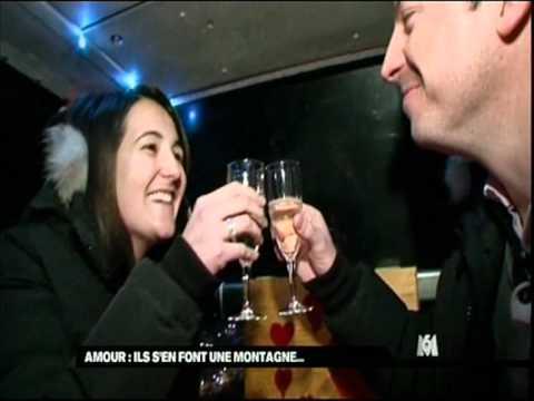 M6 - Diner de la Saint-Valentin dans la Télécabine du Mont-Chéry