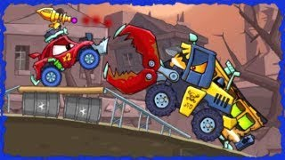 Car Eats Car 2 Deluxe Game Arena All Levels Walkthrough