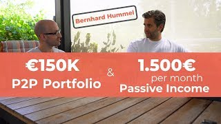 €150K P2P Lending Portfolio - 1.500€ Monthly Passive Income | Bernhard Hummel