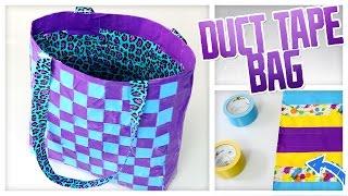 DIY Duct Tape Tote Bag! - Do It, Gurl
