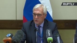 Пресс-конференция постпреда РФ при НАТО по итогам заседания Совета Россия — НАТО