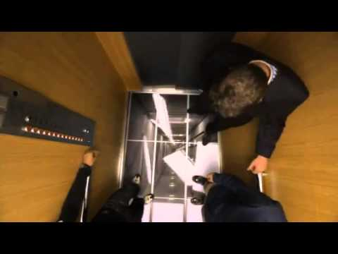 Lg halloween elevator prank falling floor youtube for Elevator floor prank