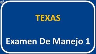 Examen De Manejo De Texas 1
