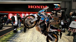 HONDA MOTO @ Brussels Motorshow 2019 - CRF1000L Africa Twin, Goldwing, CB650R, CB1000R, Monkey 125