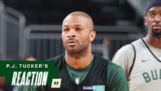 P.J. Tucker NBA Finals Media Availability   7.19.21