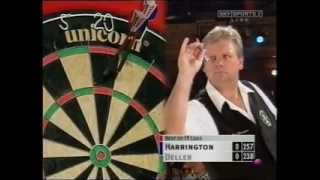 Rod Harrington v Keith Deller - The Grudge Match- 2002 World Matchplay Darts Part 1/6