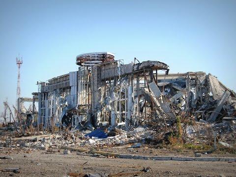 Видео, Луганский аэропорт. Все что осталось. Новости Украины сегодня, Луганск, ЛНР, АТО, Донбасс, Донецк,