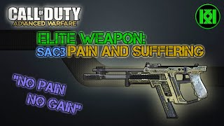 """Pain and Suffering"" SAC3 SMG Gameplay: Elite Weapon Guide: Call of Duty Advanced Warfare (COD AW)"
