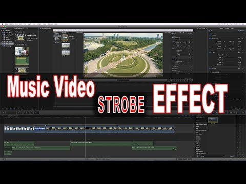 Final Cut Pro X Music Video Tutorial: Strobe and Flicker *Link in Bio* thumbnail