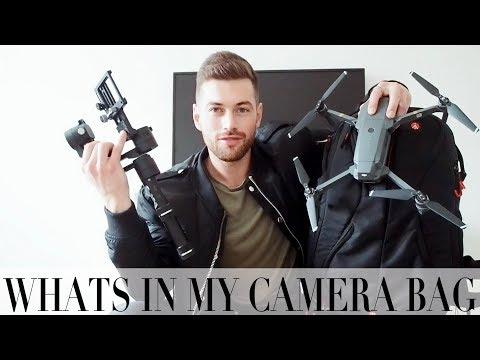 WHATS IN MY CAMERA BAG | Ali Gordon