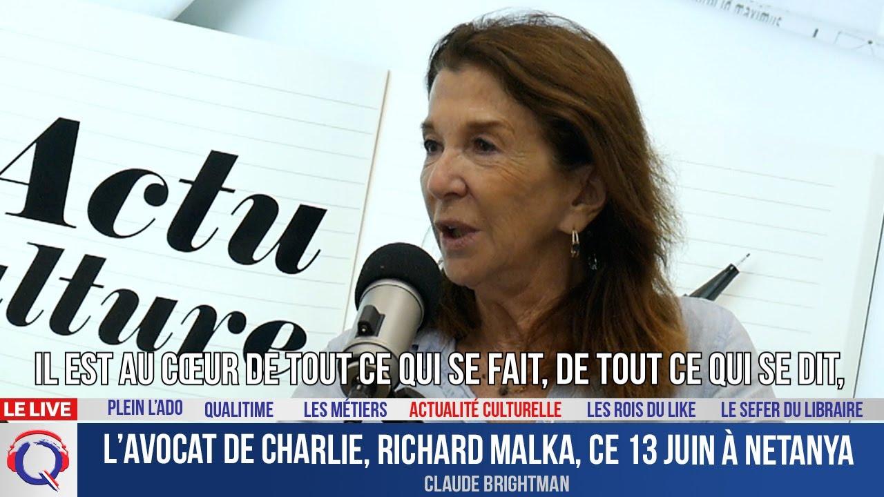 L'avocat de Charlie, Richard Malka, ce 13 juin à Netanya - Actuculture#271