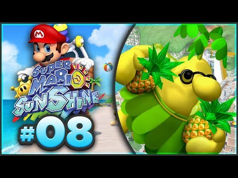 Super Mario Sunshine 100% Walkthrough | ALL Delfino Plaza Shine Sprites! [Episode 8 🔴LIVE]