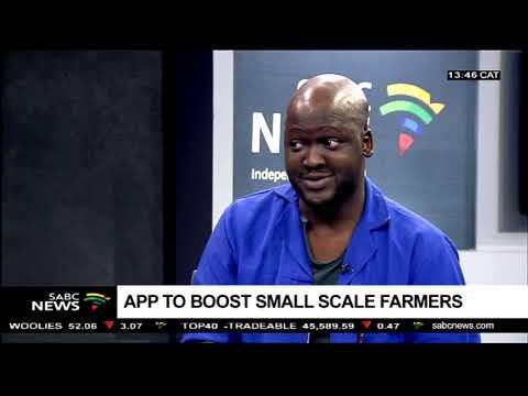 An app to boost small scale farmers: Karidas Tshintsholo