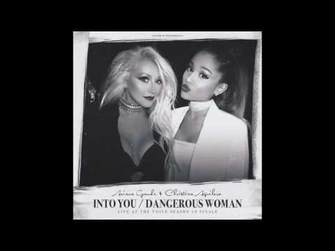 Ariana Grande & Christina Aguilera  Dangerous Woman  from The Voice AUDIO