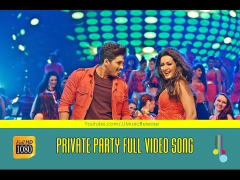 Private Party ( Malayalam ) Full Video Songᴴᴰ Yodhavu The Warrior Malayalam (2016)   AlluArjun