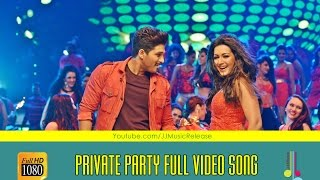 Private Party ( Malayalam ) Full Video Songᴴᴰ Yodhavu The Warrior Malayalam (2016) | AlluArjun