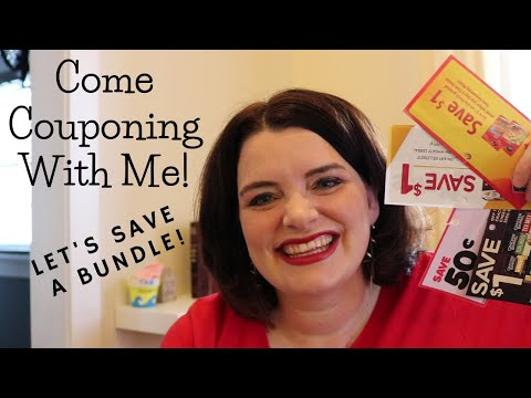 Come Coupon Shopping With Me! / Watch Me Save a Ton on Grocery Costs in Canada…