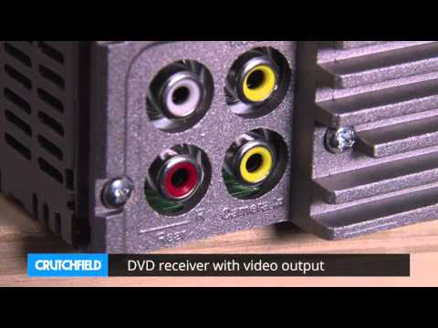 JVC KD-AV31 Display and Controls Demo | Crutchfield Video