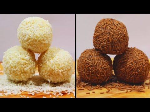 Easy Truffle Recipes   How To Make Yummy Truffles   DIY Desserts By Hoopla Recipes