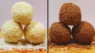 Easy Truffle Recipes | How To Make Yummy Truffles | DIY Desserts by Hooplakidz Recipes