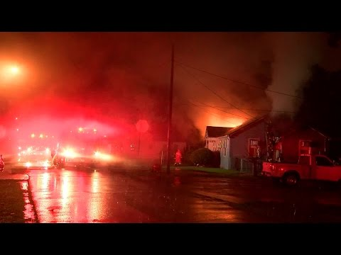 Severe Weather: Lightning Strike Sparks House Fire
